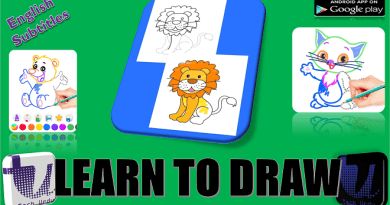BEST APP ? TO DRAW STEP BY STEP FOR KIDS ? | HOW TO DRAW ANIMALS ? STEP BY STEP |DRAW[Urdu/Hindi] 4