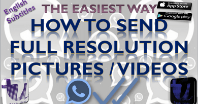 HOW TO SEND FULL RESOLUTION PICTURE/VIDEO ON WHATSAPP | SEND FULL SIZE AND QUALITY MEDIA[Urdu/Hindi] 3