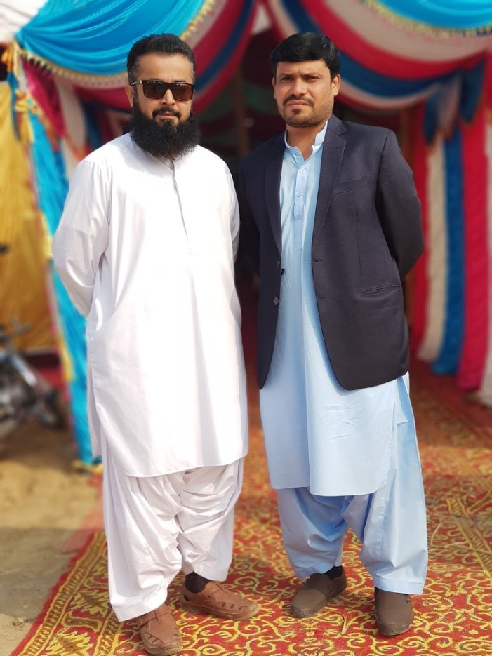 Naeem Javid - Tech Urdu - at Dera Murad Jamali with Shoukat Ali 20171214_134003