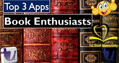 Best Apps for Books Lovers Enthusiats Tech Urdu Thumbnail - Copy Tech Urdu