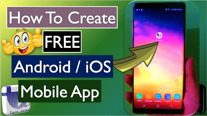 Create Free Mobile App from Website Blog Facebook Page YouTube Channel-Tech Urdu - Create FREE Android/iOS App