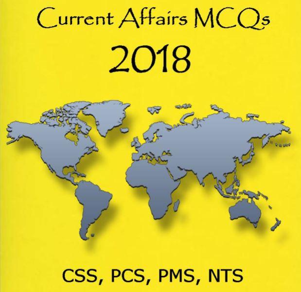 Current Affairs MCQs 2018