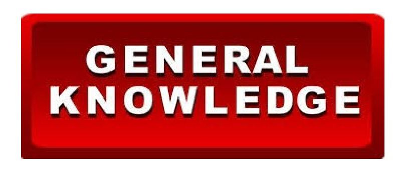 General Knowledge MCQS with Answers (Free Download)