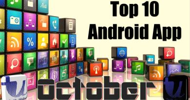 Top 10 Android Apps - October 2018