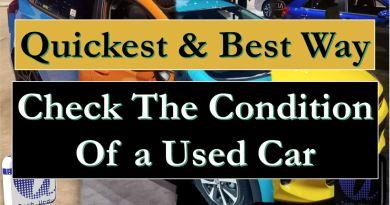 Check The Original Color/ Repainted/ Crashed Car