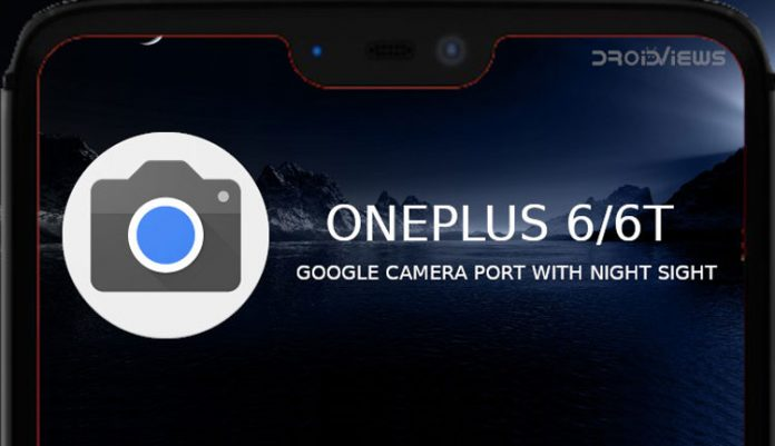 Google Camera Port with Night Sight Now Available for OnePlus 6/6T