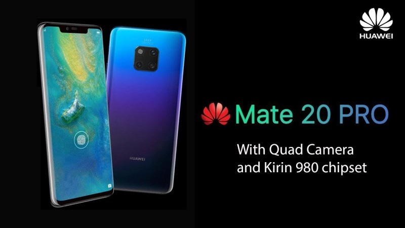 Huawei Mate 20 Pro - One of the Best Phones of 2018