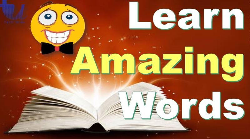 Learn Amazing, Weird, Never Heard English Words Before - Tech Urdu