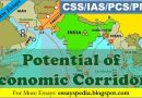 The True Potential of Economic Corridors | Complete Essay - Tech Urdu