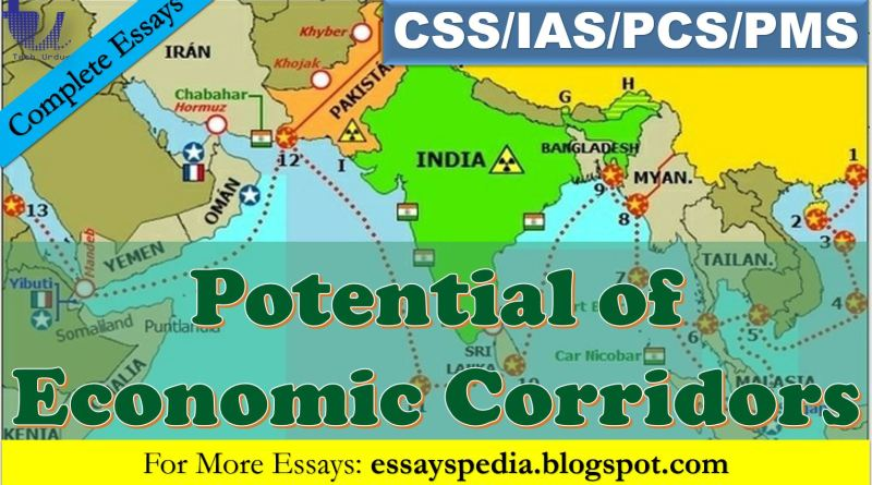 The True Potential of Economic Corridors | Complete Essay - Tech Urdu