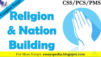 Religion in Nation Building | Complete Essay with Outline