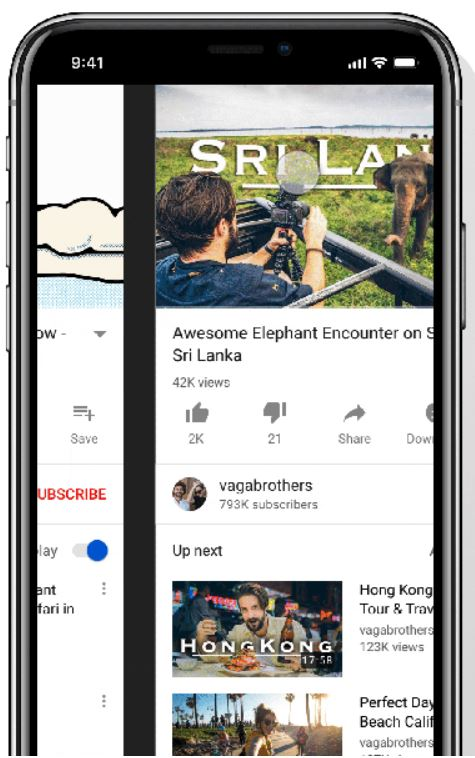 YouTube Changed How You Navigate Videos in its Mobile App  - Tech Urdu
