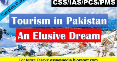 Tourism in Pakistan - An Elusive Dream | Complete Essay with Outline - Tech Urdu