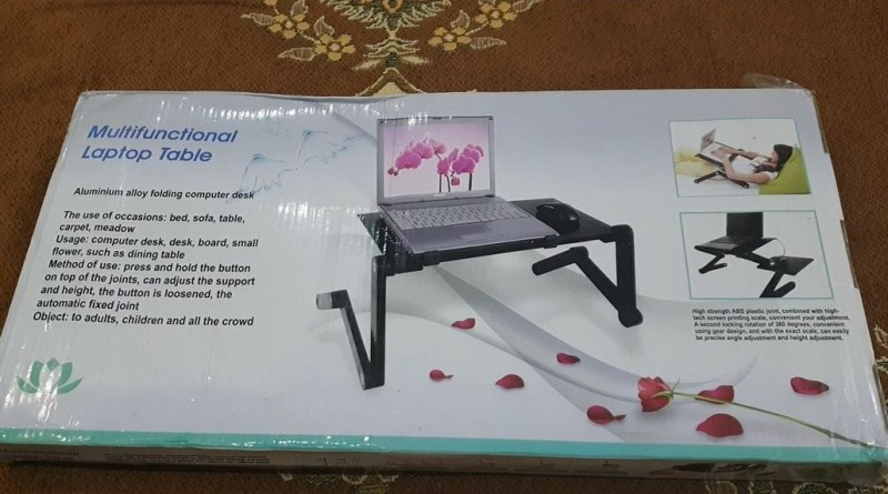 Multi-Functional 💻Laptop Table | Unboxing & Review - Tech Urdu