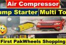 Multi-Function Car Jump Starter Power Bank with Air Compressor - Tech Urdu