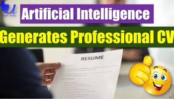 Using AI Generate a Professional Resume/CV for Yourself in 5 Minutes - techurdu.net