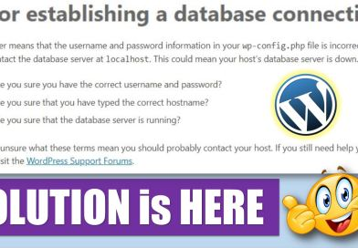Here is How to Fix Error Establishing a Database Connection in WordPress - techurdu.net