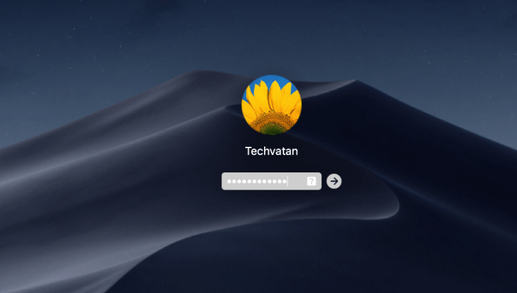 Login to MacOS Mojave on VMware