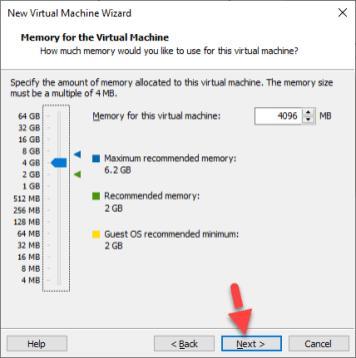 MacOS Mojave Memory Size