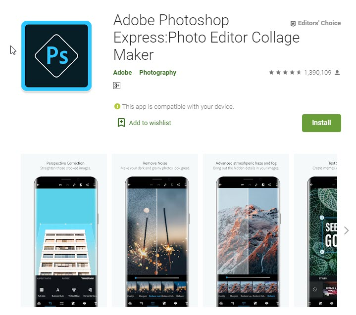 best apps for photo editing