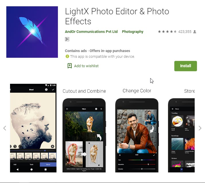 best apps for photo editing andriod