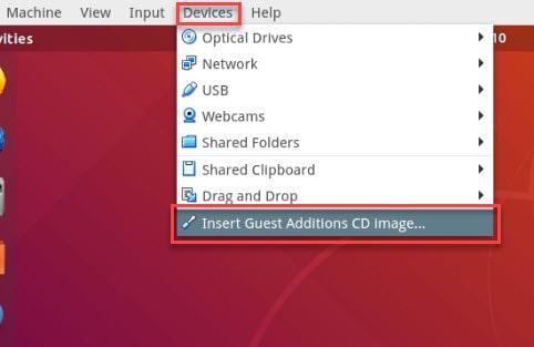 install Virtualbox guest addition on Ubuntu