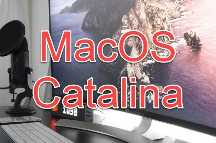 macOS Catalina vmdk file