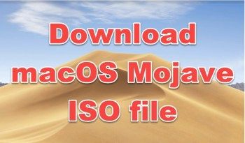 download macOS Mojave ISO file