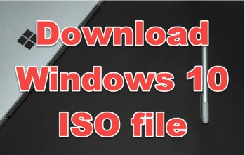 download windows 10 ISO file virtual machines