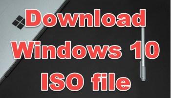 download windows 10 ISO file virtual machines
