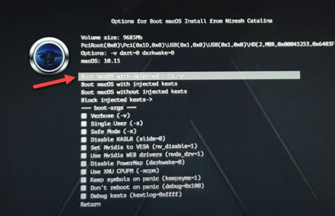 dual boot windows 10 and macOS Catalina