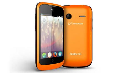 Mozilla firefox powered zte open