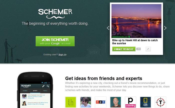 Google schemer service