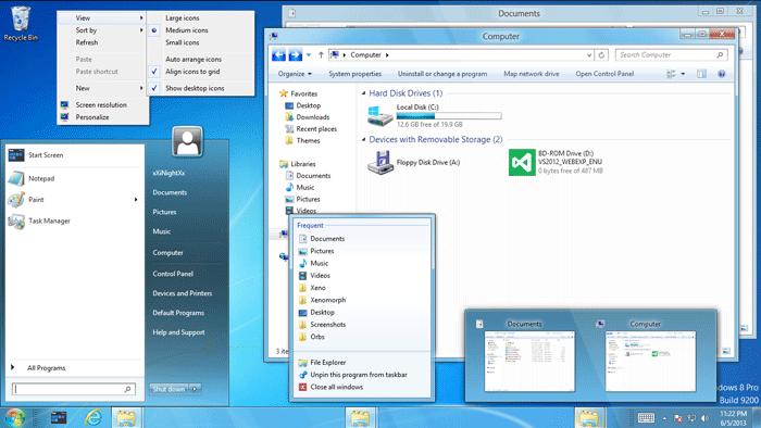 27 Best Windows 8 Themes for your Desktop