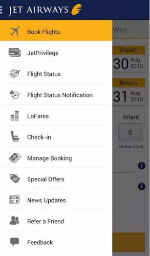 book jet airlines ticket android app