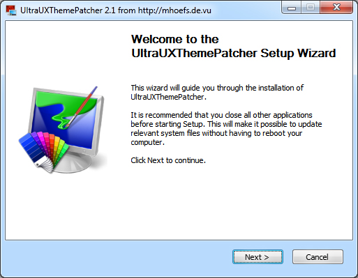ultrauxthemepatcher _ install windows 8 thems