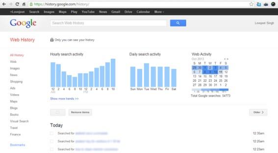 Google-search-web--history