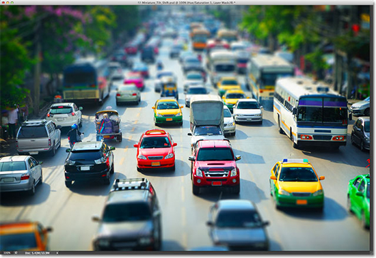 miniature-tilt-shift-effect