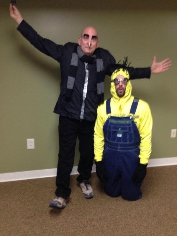 gru and the minion halloween costumes