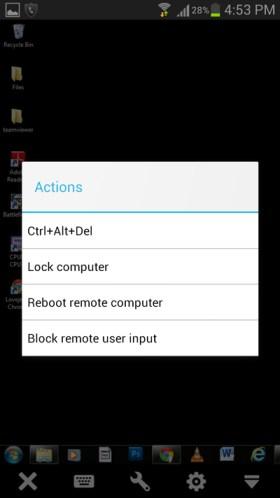 how to control alt delete on remote desktop