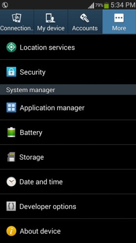 how-to-access-the-application-manage-on-android