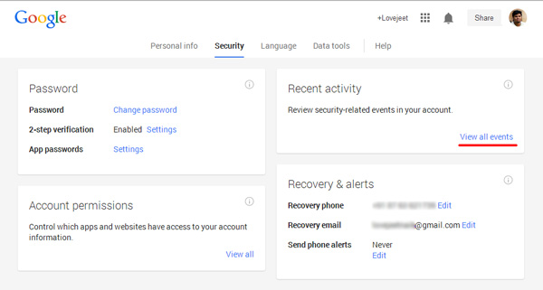 check-if-google-accoutn-was-hacked,-view-recent-activity