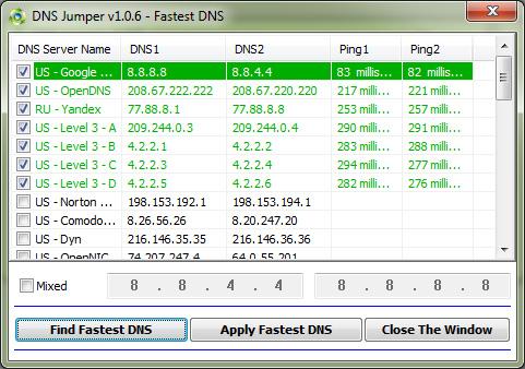 find-fastest-dns-service-dns-jumper