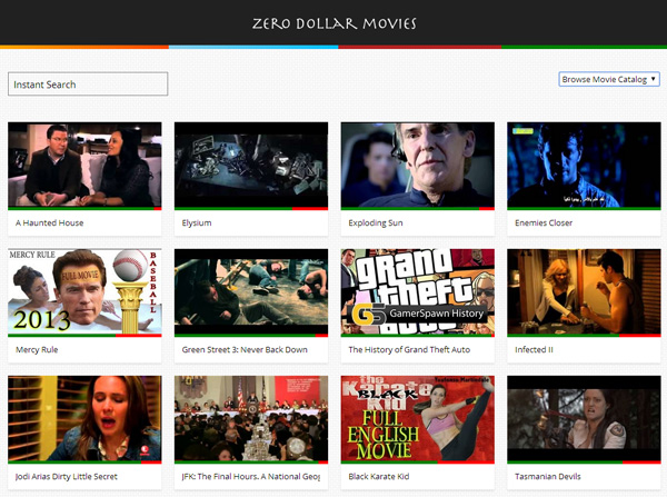 Find Free Movies On YouTube With Zerodollarmovies