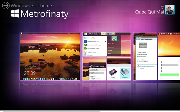 metrofinaty for windows 7 by kennypun95 d4xmway 20 Best Windows 7 Themes Collection for your Desktop   February 2014