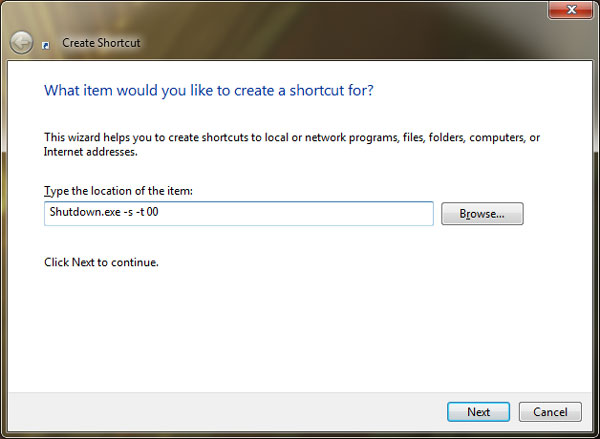 type-in-command-to-create-shudown-shortcut-for-windows
