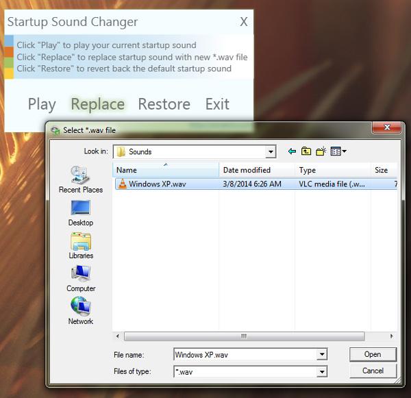Startup-sound-changer