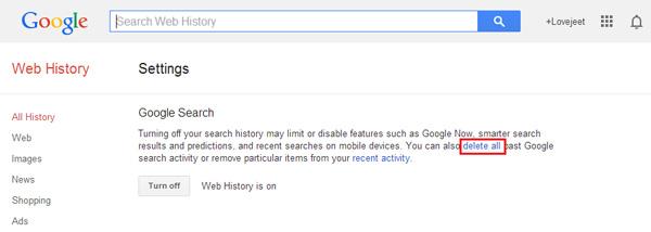 delete-all-google-search-history