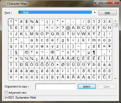 how-to-use-and-type-special-character-on-windows