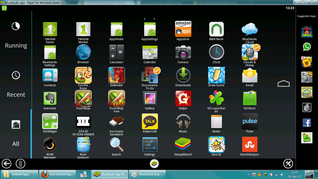 jar of beans android emulator for windows 7 free download